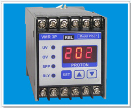 Three Phase Voltage Monitoring Relay Vmr 3p